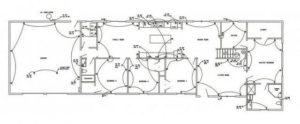 Схема электропроводки для получения технических условий