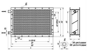 Водяной калорифер для приточной вентиляции виды, устройство, принцип работы