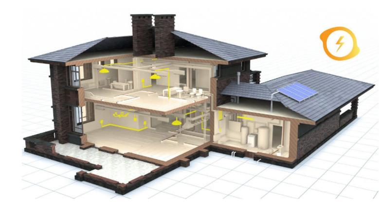 Электропроекты частных домов