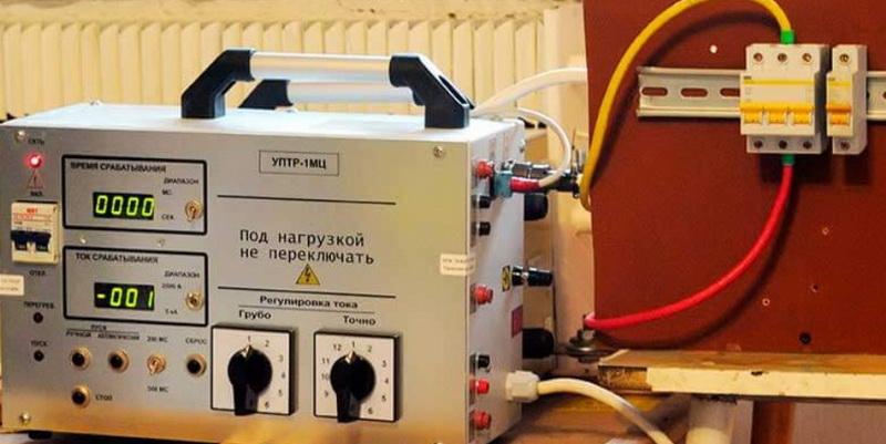 Диагностика автоматического выключателя